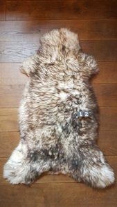 Schapenvacht Mouflon XXL +/- 120 x 60 cm