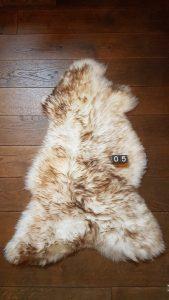 Schapenvacht Mouflon XXL +/- 115 x 60 cm