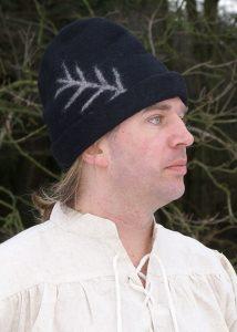 Schapenwol Veldpet Zwart