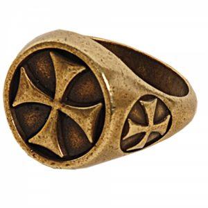 Tempeliers Ring Brons Kleur
