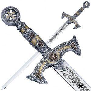Templar Schwert rund 1118
