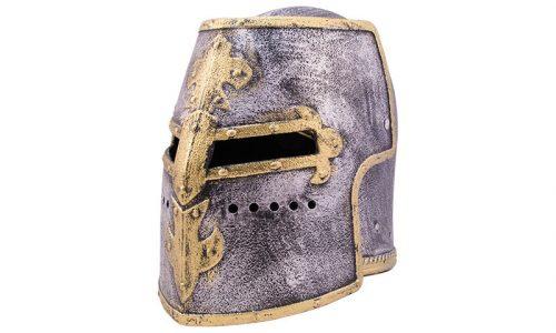 Templar helmet aus Kunststoff