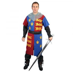 Middeleeuws Tuniek van Edward III Of England ofwel the Black Prince