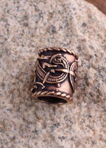 Wikinger Bardperle Bronze
