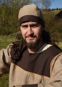 Viking Birka Muts Visgraad Bruin maat M