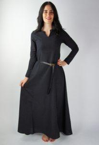 Viking Dames Onderkleed in Zwart