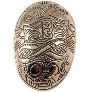 Viking Fibula in Brons