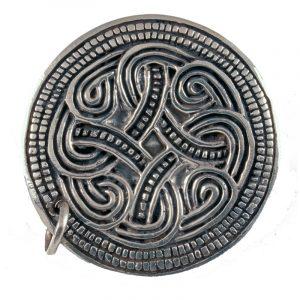 Viking Fibula Gotland Zilver