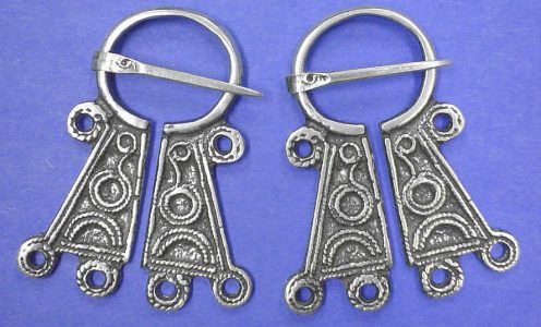 Viking Fibula zilver