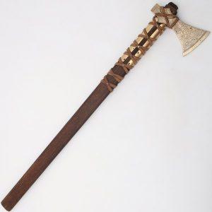 Viking Fransiska Werpbijl 10e eeuws gebruiksversie