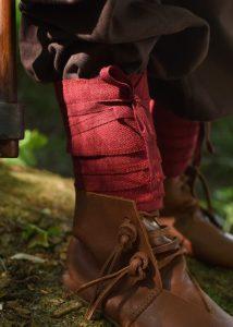 Viking Kinder Beenwikkel set Rood