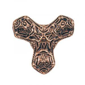 Viking Kleefblad Fibula Brons
