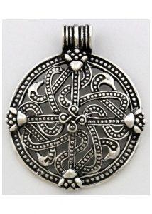 Viking Kruis - Midgard Slang Zilver