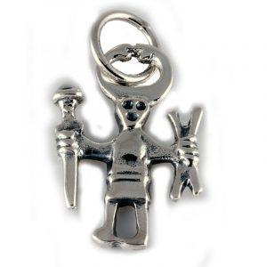 Viking Odin Amulet Zilver