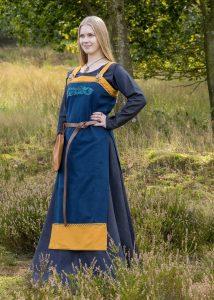 Viking overjurk blauw-geel