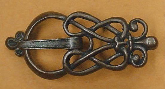 Wikinger Riemen Schnalle Bronze, Gotland, 8 - 9Jh.