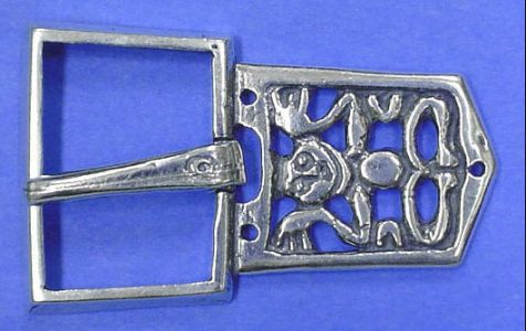 Viking Riemgesp Zilver, Great Moravia, 10e eeuws