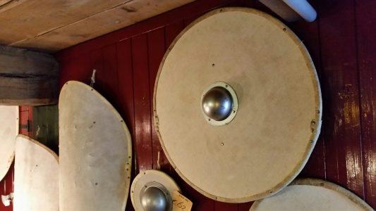 Viking Rondschild Genageld 80 cm