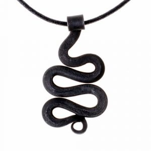 Viking Slangen Hanger Gesmeed