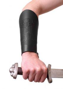 Viking Thorshammer Polsbeschermer zwart