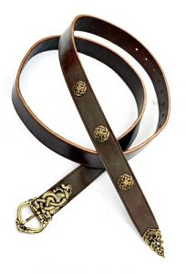 Viking Riem Zwart 3 cm