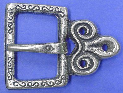 Viking Riemgesp Zilver, Slavich, Geat Moravia 10e eeuws