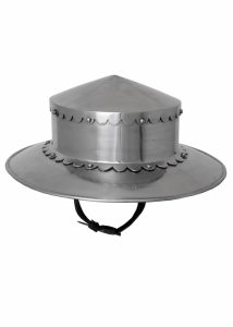 Monnikskap Helm 14e eeuws in maat S, M, L