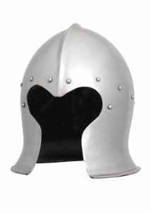 Barbuta Helm ca. 1470 in maat M en L