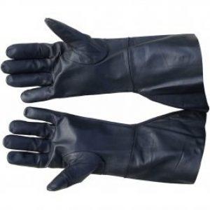 Lederen Handschoenen Zwart