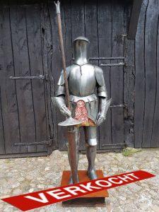 Mittelalter Ritter Rustung von Marto ca. 50 jahre alt mit Lanze
