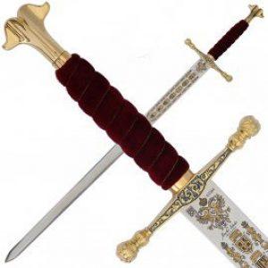Marto of Spain Charles de V zwaard