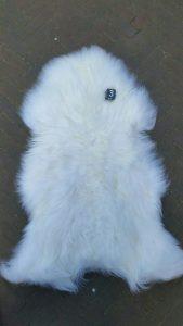 ijslandse Schapenvacht Wit +/-  105 x 70 cm