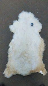 ijslandse Schapenvacht Wit +/- 115 x 65 cm