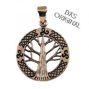 Keltische Levensboom - Yggdrasil Hanger Brons