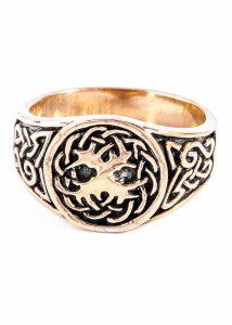 Kelten Yggdrasil Ring Brons