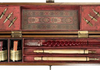 Kalligrafie Set - Schrijfset in houten kist