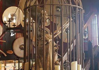 Gefangene Käfig Stahl