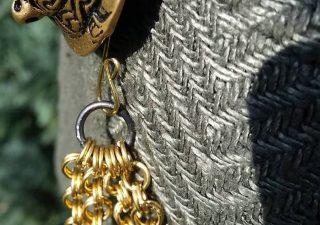 Viking ketting Brons per cm