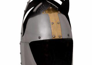 Sugar Loaf Helm met Vizier 14e eeuws