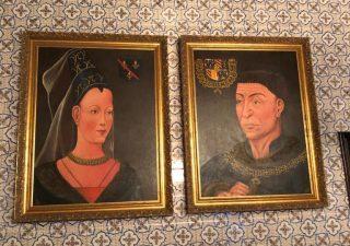 Karel de Stoute en Isabella van Bourbon Schilderijen
