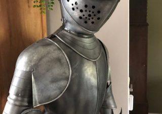 Ritter Rustung von Marto, sehr altes model von ca. 50 jare alt!