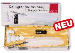 Kalligrafie Set Wit 3-delig