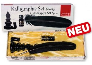 Kalligrafie Set Zwart 3-delig