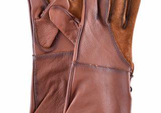 Valkeniers Handschoenen in Bruin