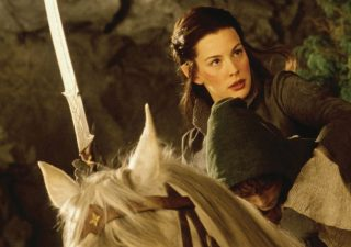 Lord Of the Rings Hadhafang Zwaard Arwen