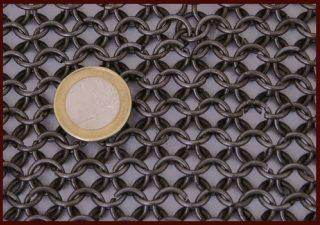 Maliënkolder Armen, ronde ring, onbehandeld