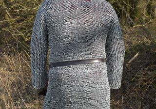 Malienkolder Hemd Ronde Ring, vernageld en verzonken, maat XL