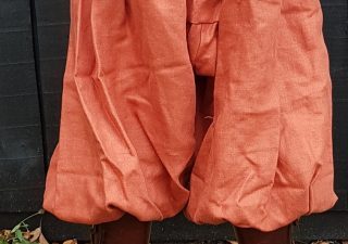 Viking Rusvik broek in maat XL oranje linnen