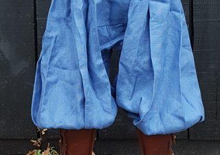 Viking Rusvik Broek maat L in donkerblauw linnen