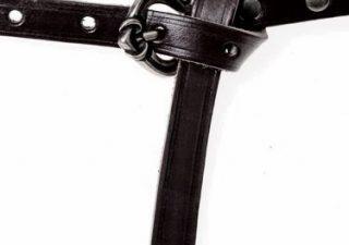 Rusviking riem Replica Nowgorod Zwart